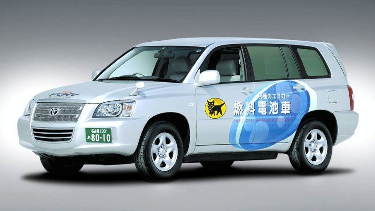 Toyota Kluger Fuel Cell Hybrid Vehicle