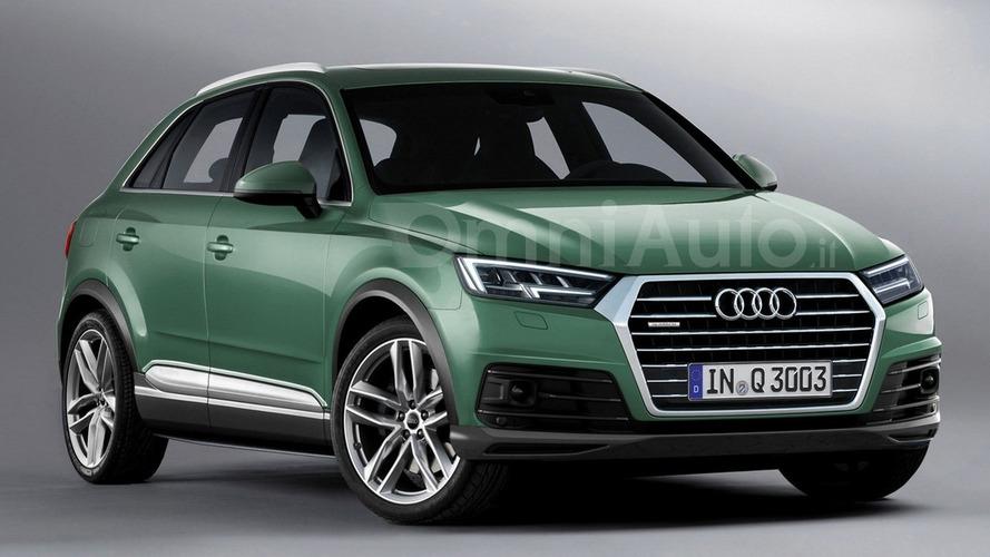 2018 Audi Q3 render points towards predictable design evolution