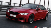 2014 BMW M4 speculatively rendered