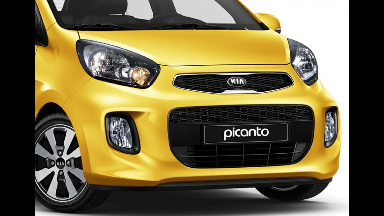 Kia Picanto reestilizado chega ao Brasil por R$ 46,9 mil