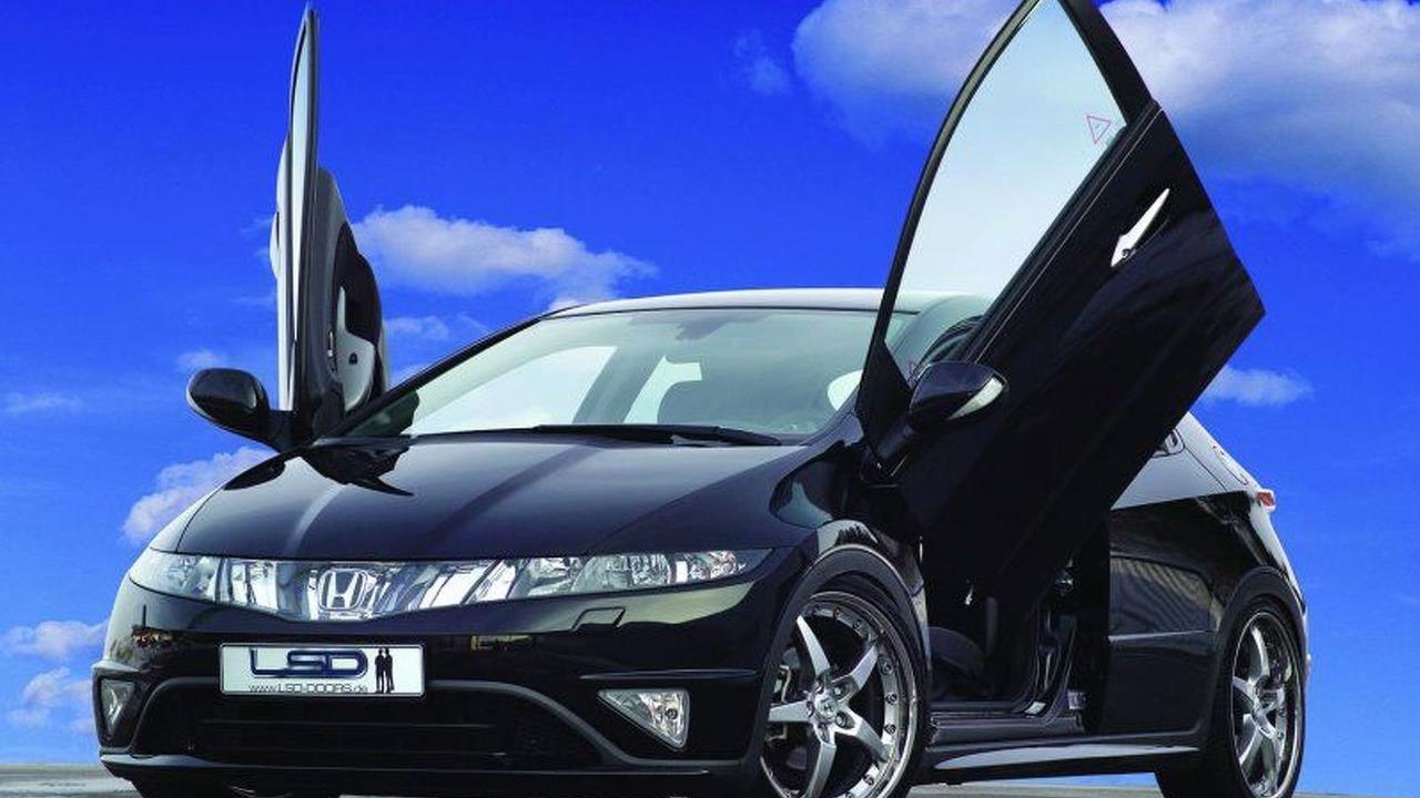 LSD Wing Doors for New Honda Civic