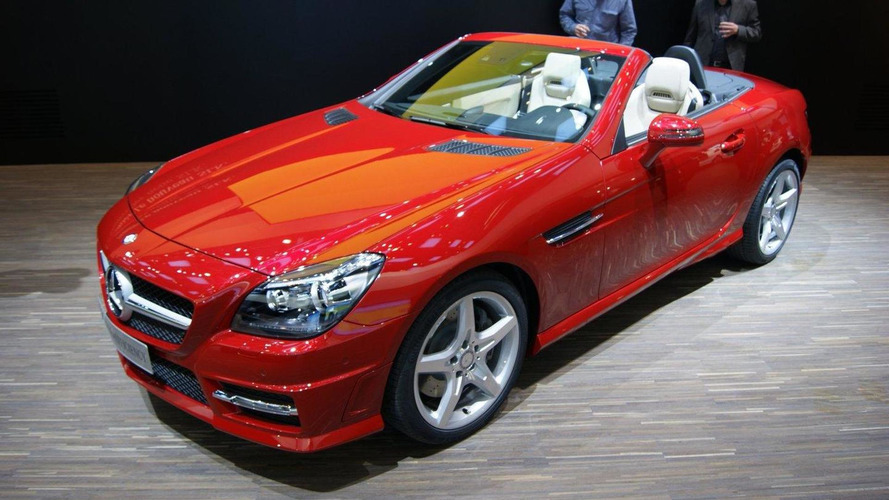 2012 Mercedes SLK-Class debut in Geneva