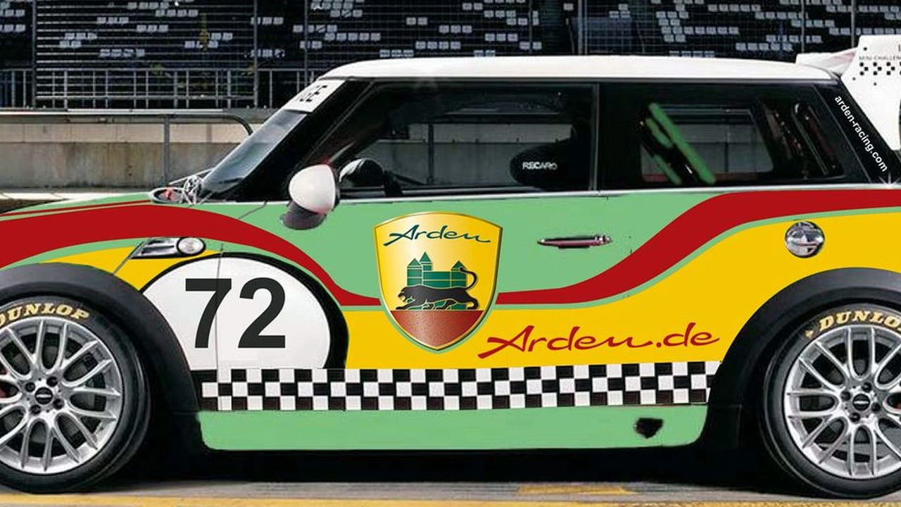 Arden MINI Challenge Cup car