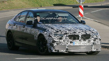 BMW M5 F10 Rear Lights Spied for First Time