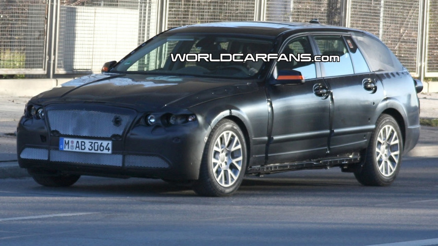 BMW 5 Series Touring Spied