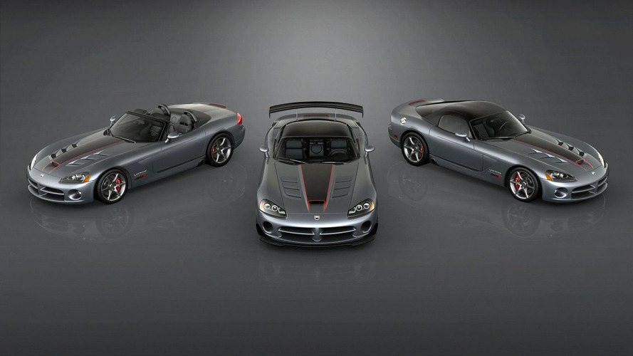 2010 Dodge Viper SRT10 Final Edition Models Announced