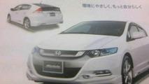 2009 Honda Insight Leaked Brochure Includes Sporty Modulo Version
