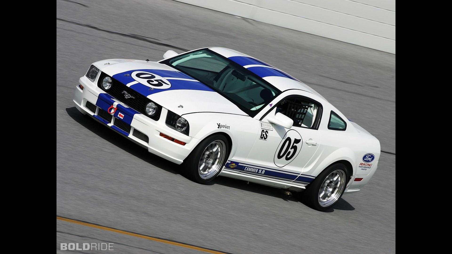 Ford Mustang GT Race Car at Daytona