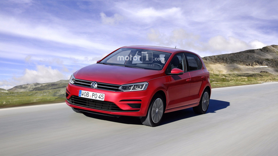 Volkswagen Polo Struts Out Without Any Disguise