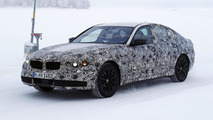 Next generation BMW 5-Series spy photo