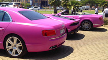 Bentley Flying Spur, Lamborghini Huracan and Continental GT Speed Convertible for Breast Cancer Awareness Month