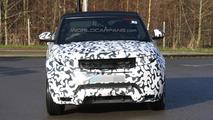 2016 Range Rover Evoque Cabrio spy photo