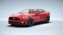 2015 Ford Mustang leaked photo