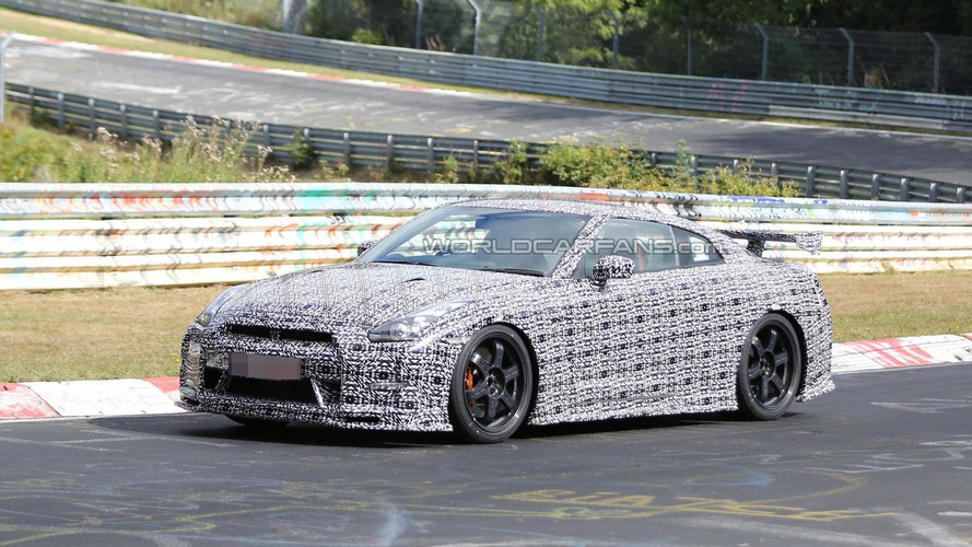 Nissan GT-R Nismo spied on the Nurburgring