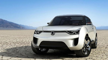 Ssangyong XIV-2 Convertible Crossover Concept unveiled in Geneva