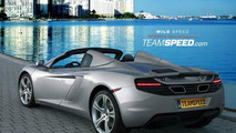 McLaren MP4-12C Spider artists rendering