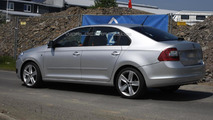 2013 Skoda Rapid prototype spy photo