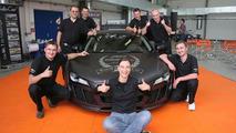 FOLIATEC Sets World Record Film Fitting Time on Audi R8