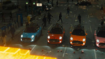 MINI Coopers to battle Pac-Man in upcoming Pixels movie [video]