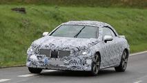 2018 Mercedes E Class Cabriolet spied up close [38 pics]