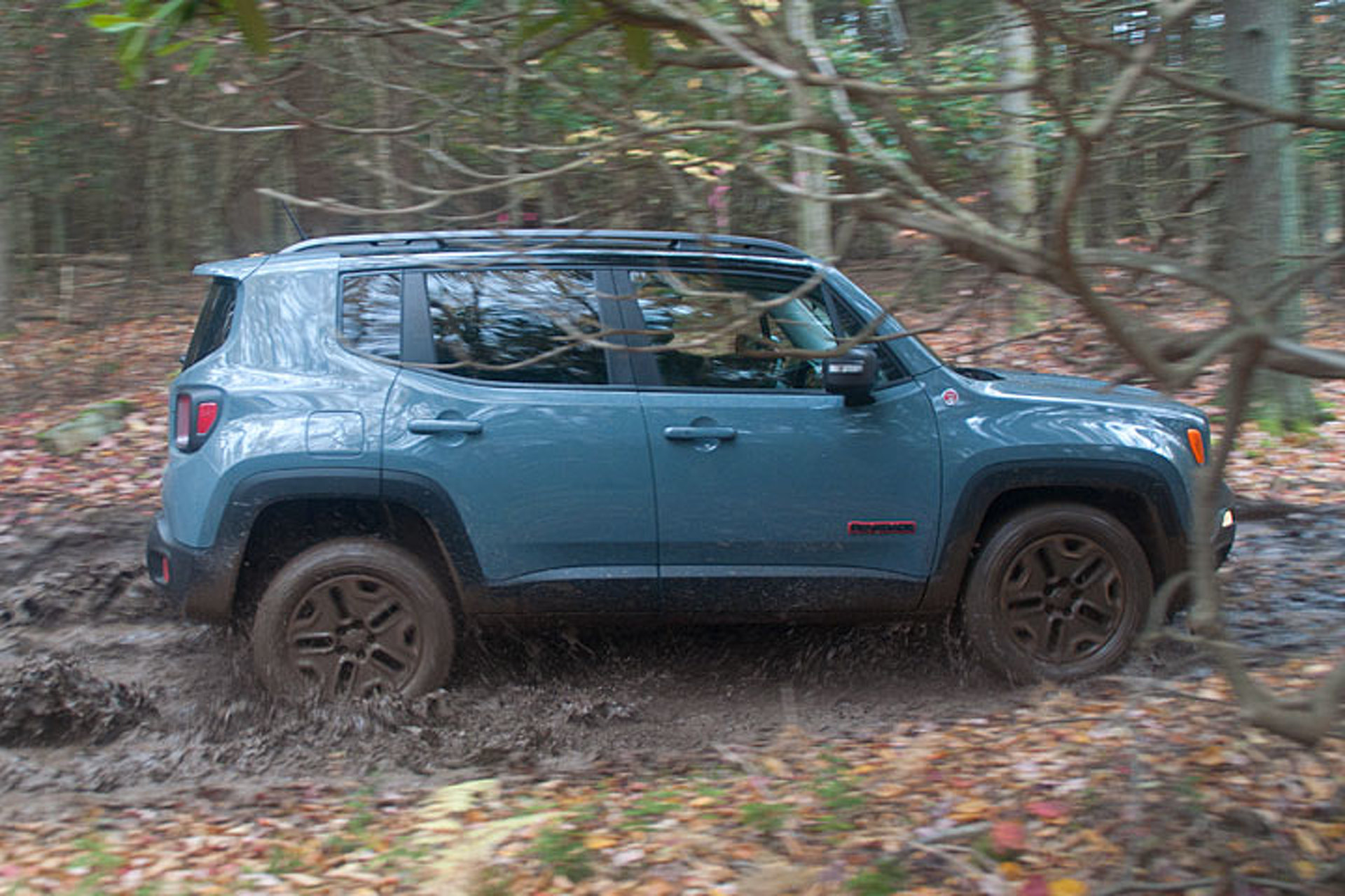 The Jeep Renegade Trailhawk Proves its Off-Road Ability: Review