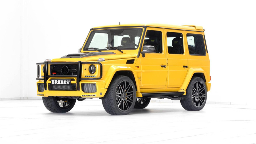 Brabus 700-hp Mercedes G63 AMG is anything but subtle [61 pics]