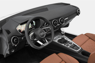 Audi Rethinks Car Interiors with Next-Gen TT