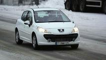 New Peugeot 207 Spy Photos