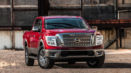 2017 Nissan Titan Crew Cab half-ton priced from $34,780