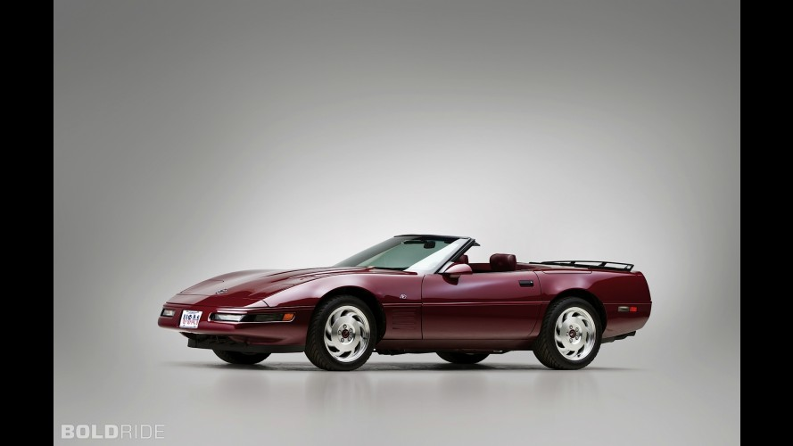 Chevrolet Corvette Convertible 40th Anniversary