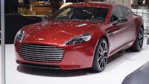 Aston Martin Rapide S live in Geneva 05.3.2013