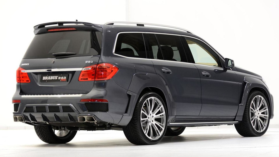 Brabus tunes the Mercedes GL63 AMG to 620 HP
