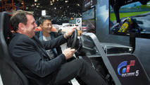 2014 Corvette now available in Gran Turismo 5 as camouflaged prototype [video]