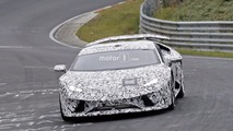 2018 Lamborghini Huracan Superleggera spy photo
