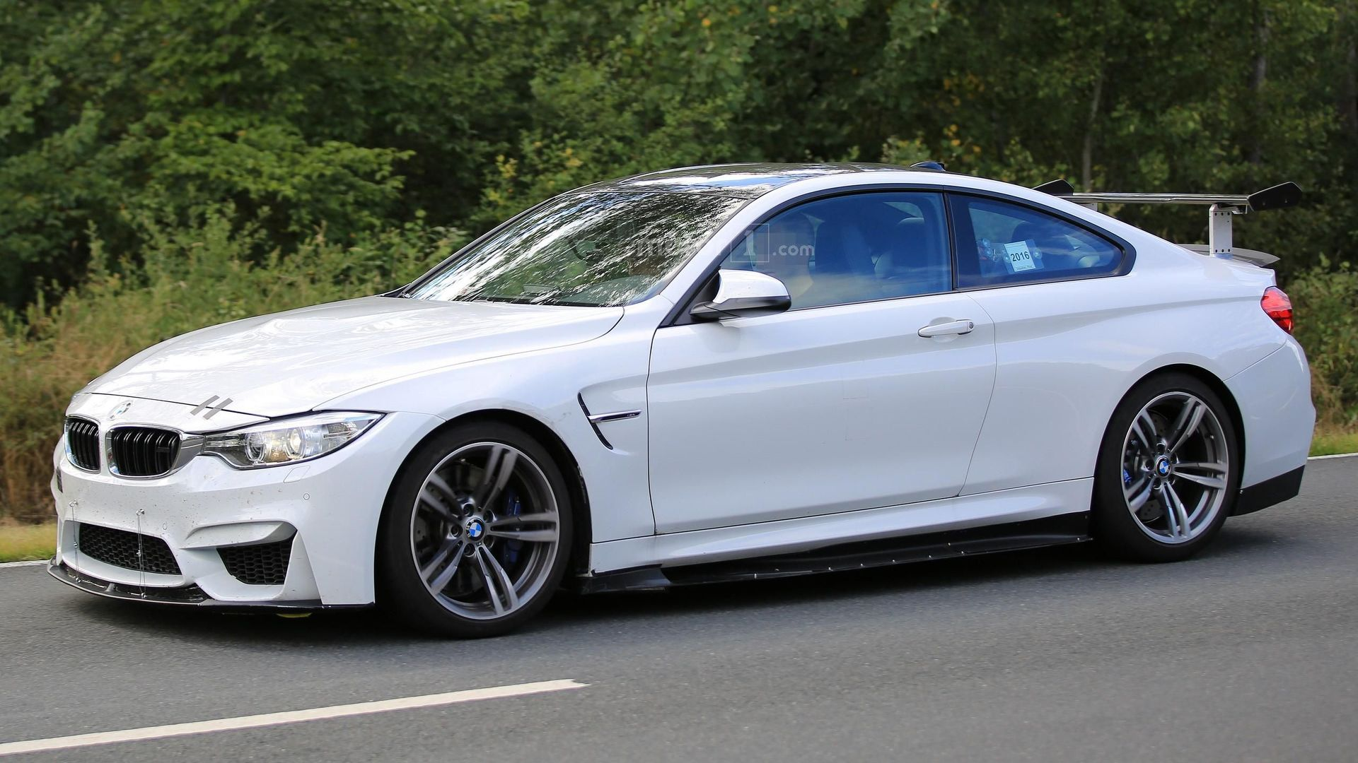 What's the deal with this mysterious BMW M4 prototype?