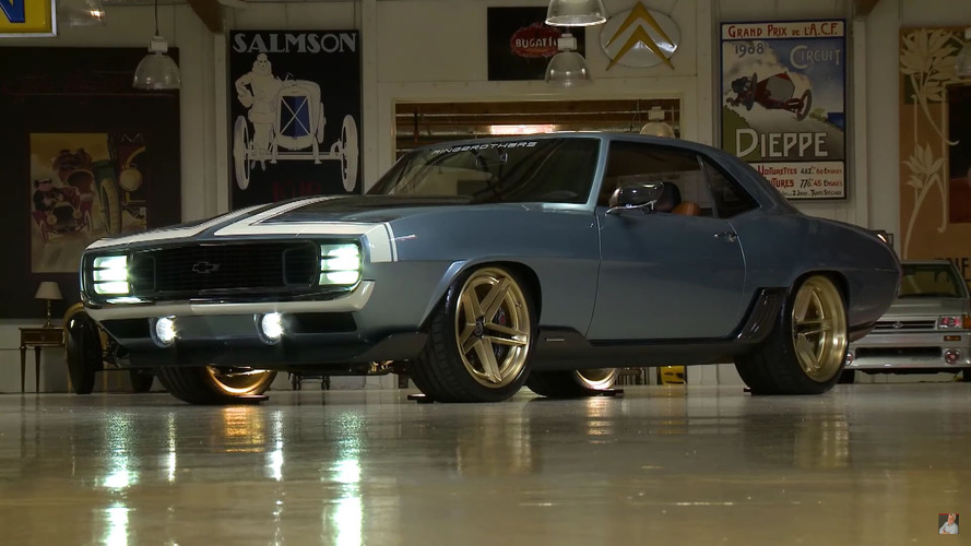 Ringbrothers' 1969 Chevy Camaro G-Code hits the spot for Jay Leno