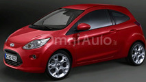 Next Generation Ford Ka Shows Up in Italian Site
