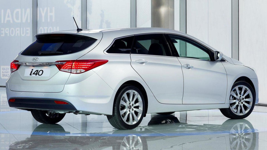 Hyundai i40 revealed for Europe - debut in Geneva