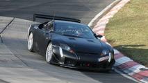 Lexus LFA Racecar Testing at Nurburgring