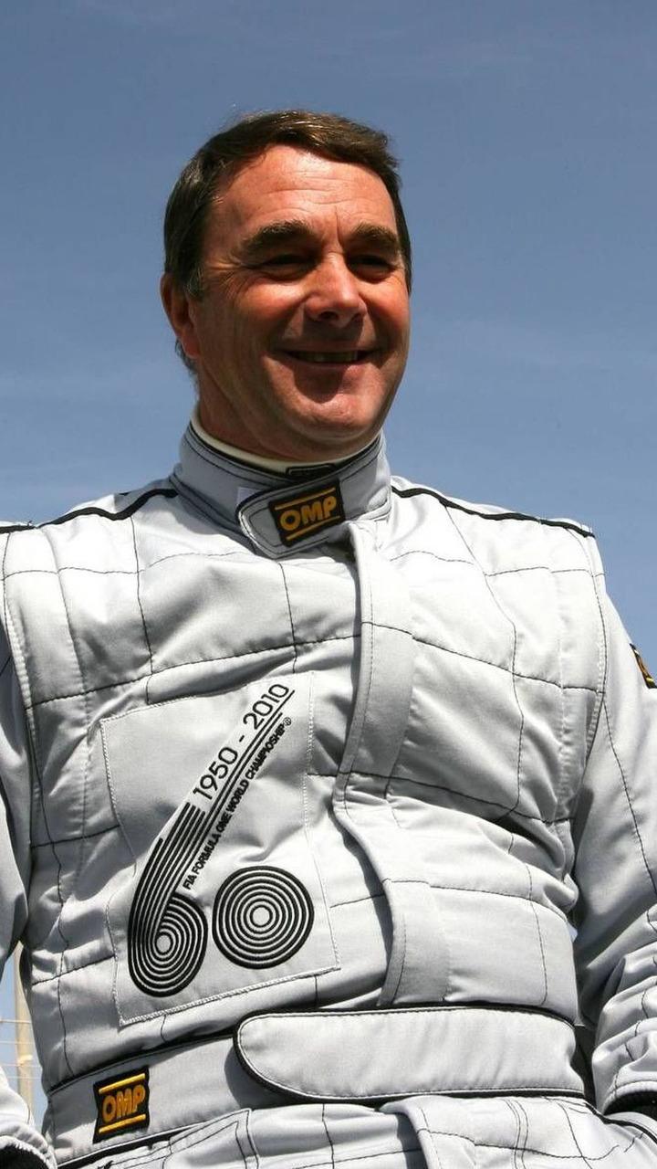 60th Anniversary of F1 World Championship, Nigel Mansell (GBR), 1992 F1 World Champion, Bahrain Grand Prix, 13.03.2010 Sakhir, Bahrain