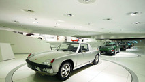 Birthday Cars Ferry Porsche received from his employees