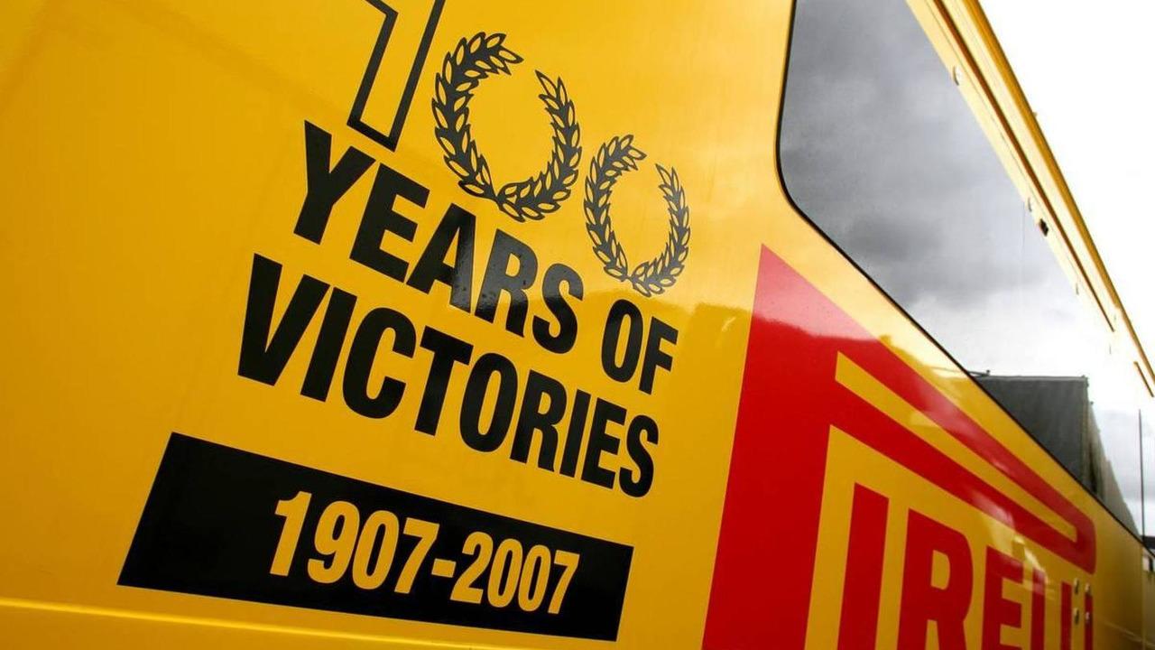 Pirelli trailer, Spanish Grand Prix, 06.05.2010 Barcelona, Spain