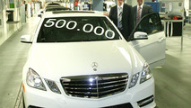 Mercedes-Benz produces 500,000th E-Class sedan (W212)