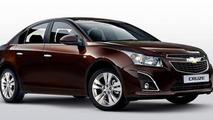 2013 Chevrolet Cruze sedan facelift