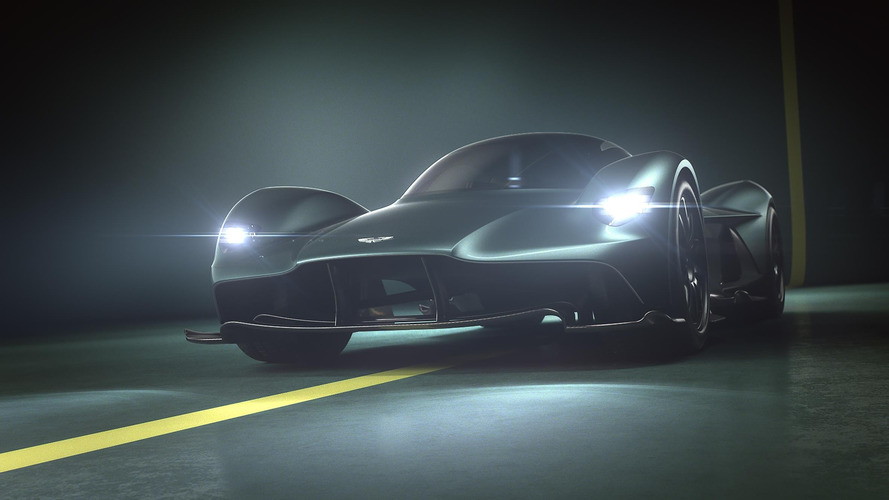 Aston Martin Valkyrie - official name of the AM-RB 001