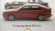 40 years Vorsprung Durch Technik - Audi
