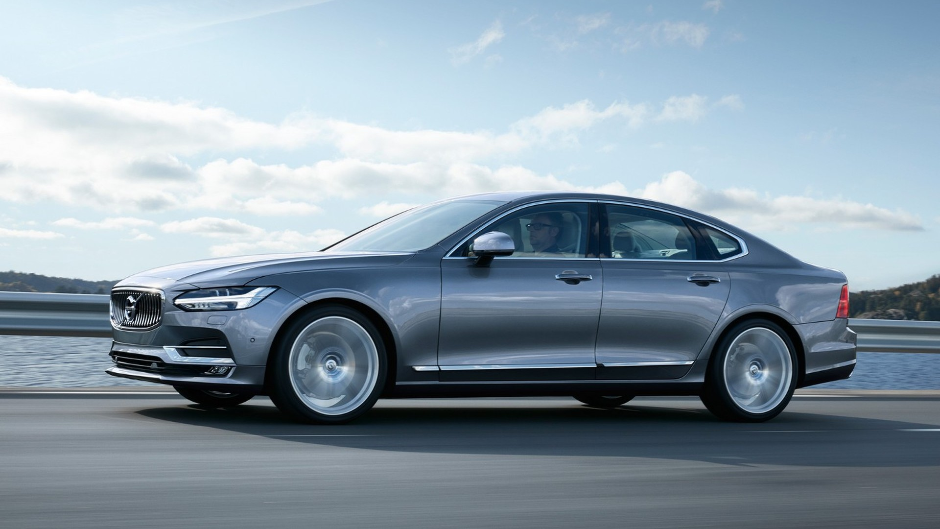 Volvo S90 could get three-cylinder hybrid