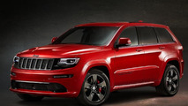 Jeep Grand Cherokee SRT Red Vapor Limited Edition priced from £64,999