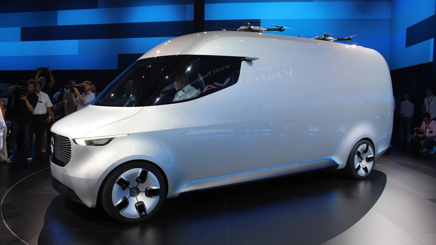 Mercedes Vision Van concept marks renewed focus on commercial vehicles