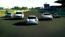 Porsche shows off E-Performance lineup in latest promo